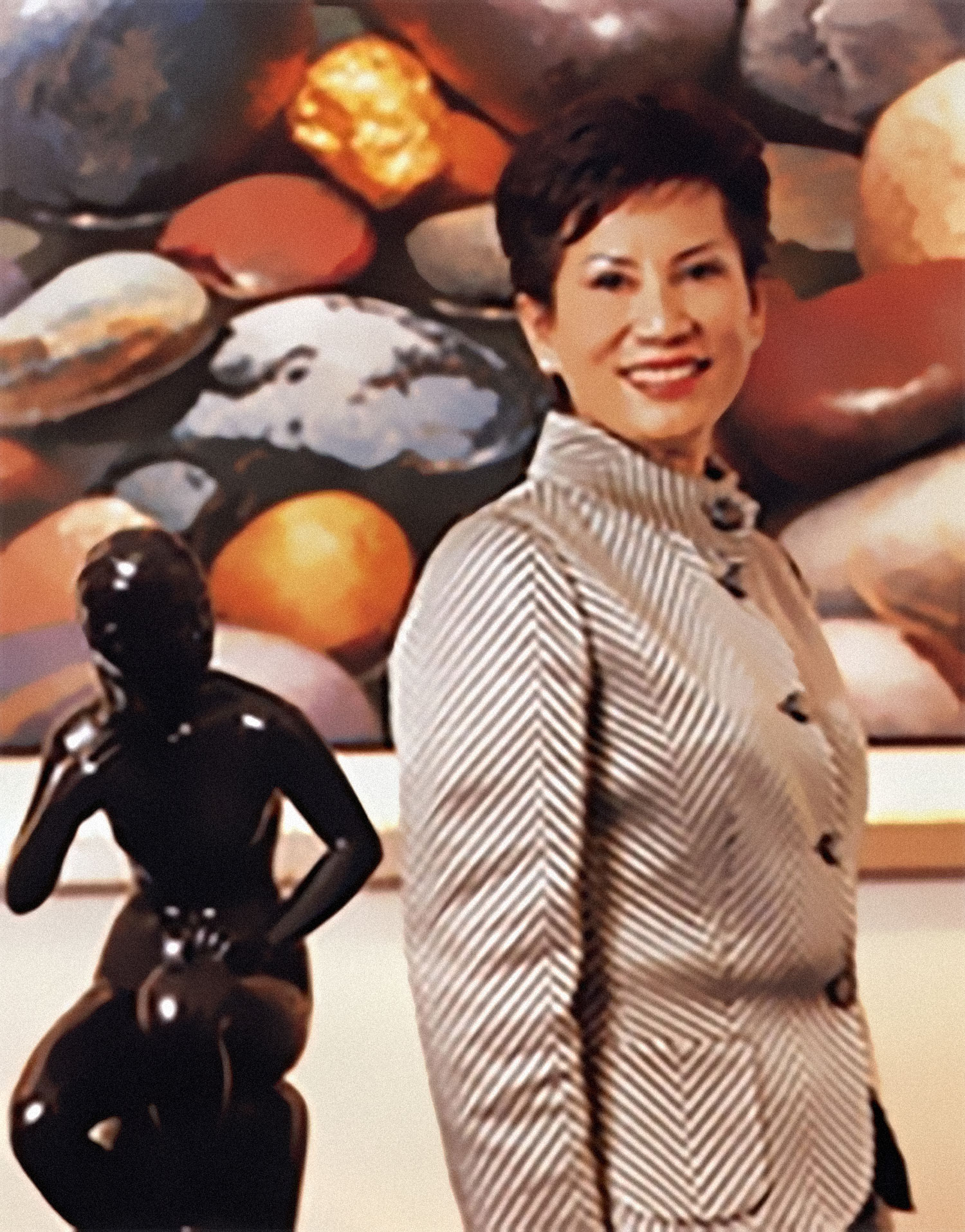 <p>The Sombat Permpoon Gallery : was founded by one of Thailand&rsquo;s most prominent and renowned art collectors,&nbsp;<br />Sombat Wattananthai<br /><br />Miss. Sombat has been a leading collector of the Thai art community for over 40 years. Beginning her impeccable Gallerist career back in 1979 when she opened her first art gallery in Silom, Bangkok. Named Sombat Gallery</p>