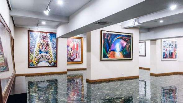 Features an extensive collection of 20th century modern and contemporary art by Thailand's renowned artists.
