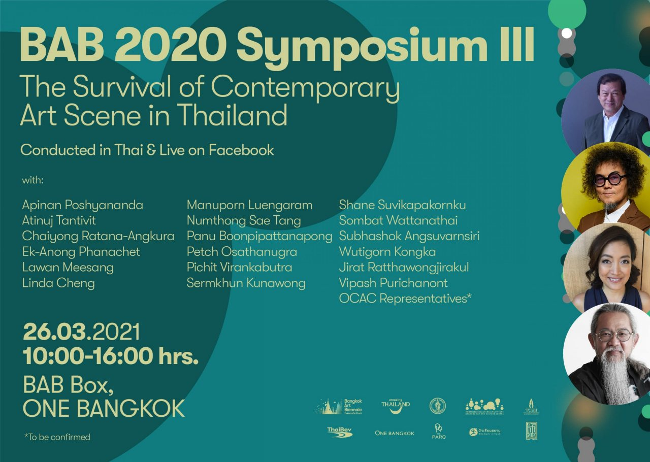 BAB Symposium III | The Survival of Contemporary Art Scene in Thailand